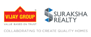 Vijay Group & Suraksha Realty Logo