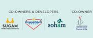 Sugam, Diamond and Soham Logo