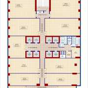 The Iconic Corenthum Floor Plan 1645 Sqft. Office Space