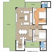 Raheja Maheshwara Floor Plan 2995 Sqft. Penthouse