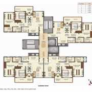 Puranik Aldea Anexo Floor Plan On Request 2 BHK
