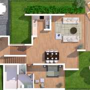 Vianaar La Maroma Estate II Floor Plan 3120 Sqft. 3 BHK Villas