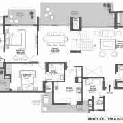 Godrej Meridien Floor Plan On Request 5 BHK - PH