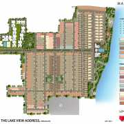 The Lake View Address Floor Plan 1573 Sqft. 3 BHK