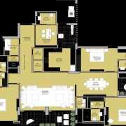 ARG One Argus Floor Plan 3850 Sqft. 3 BHK
