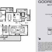 Godrej Nest Noida Floor Plan 312 Sqft. Iconic Tower (Pent House)