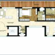 Mahindra Luminare Floor Plan 3625 Sqft. 4 Bhk + Servant Room