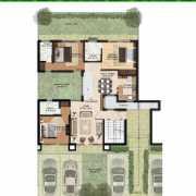 BPTP Monet Floors Floor Plan 2512 Sqft. Floor 250 sq. yrd. (GF)