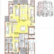 ATS Dolce Floor Plan 2800 Sqft. 4 BHK
