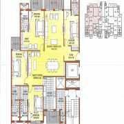 ATS Dolce Floor Plan 1892 Sqft. 4 BHK