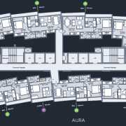 Marathon Nexworld Floor Plan 450 Sqft. 1 BHK Premium (Aura)