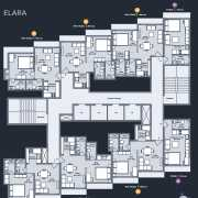 Marathon Nexworld Floor Plan 359 Sqft. 1 BHK Studio (Elara)