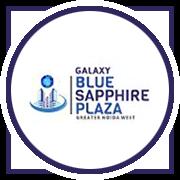 Galaxy Blue Sapphire Plaza Project Logo