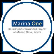 Purva Marina One Project Logo