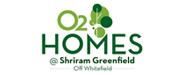 O2 Homes @ Shriram greenfield Logo