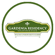 Paarth Gardenia Residency Project Logo