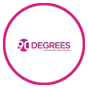 Dra 90 Degrees Project Logo
