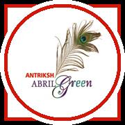 Antriksh Abril Green Project Logo