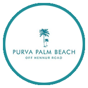 Purva Palm Beach Project Logo