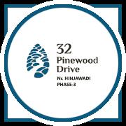 32 Pinewood Drive Project Logo