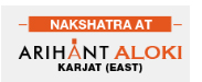 Nakshatra At Arihant Aloki Logo