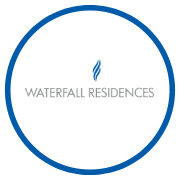 Krisumi Waterfall Residences Project Logo