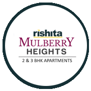 Rishita Mulberry Heights Project Logo