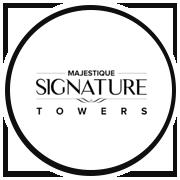 Majestique Signature Towers Project Logo
