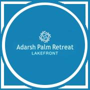 Adarsh Palm Retreat Lakefront Project Logo