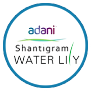 Adani Shantigram Water Lily Project Logo