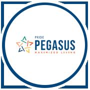 Pride Pegasus Project Logo