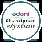 Adani Shantigram Elysium Project Logo