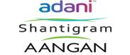 Adani Shantigram Aangan Project Logo