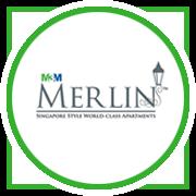 M3M Merlin Project Logo