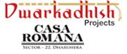 Dwarkadhish Casa Romana Project Logo