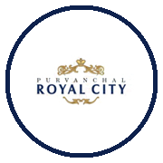 Purvanchal Royal City Project Logo