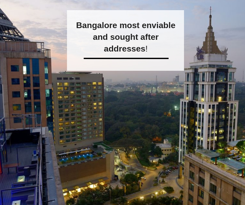 Bangalore most enviable and sought after addresses!
