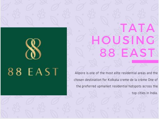 Tata Alipore 88 East Kolkata offers a Luxurious Lifestyle for Home Buyers