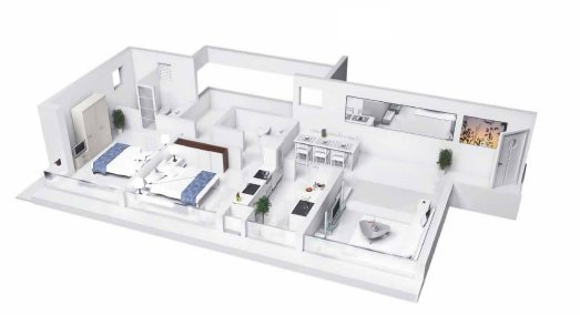 Godrej Platinum Vikhroli floor plan - New Residential property from Godrej Properties