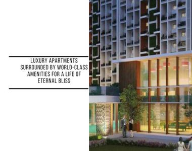 Luxury apartments surrounded by world-class amenities for a life of eternal bliss!