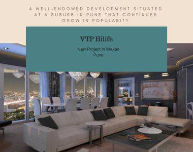 A well-endowed development situated at a suburb in Pune that continues grow in popularity