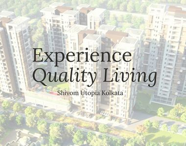 Book a classy apartment at Shivom Utopia to experience quality living