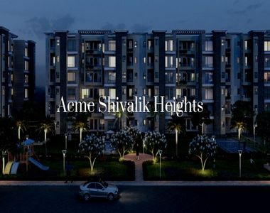 Lead a Safe Live with the Amenities and Services of Acme Shivalik Heights