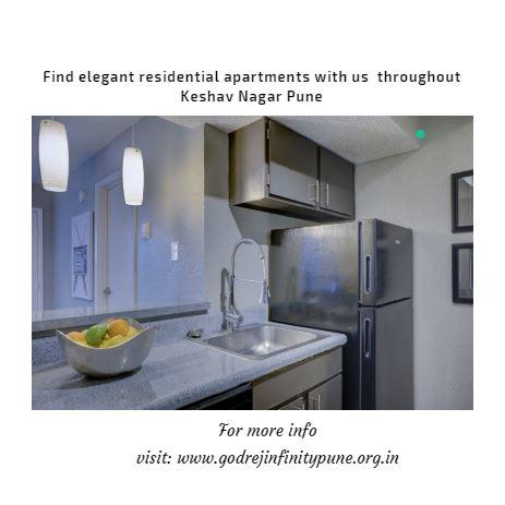 The lookout for residential spaces in Keshav Nagar has begun