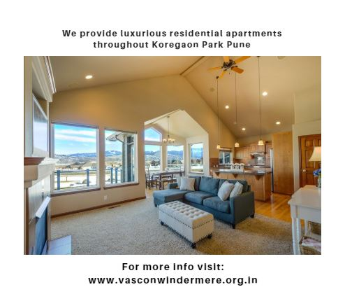 Suave Residential Spaces With A Class Features In Koregaon Park Pune