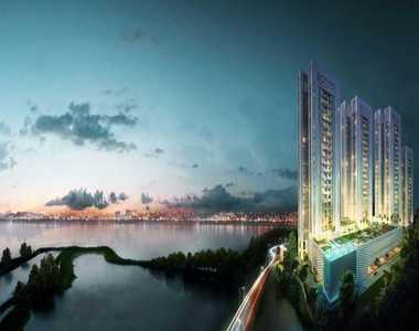 Live nearby a Lake in Kolkata Choose homes in Merlin 5th Avenue