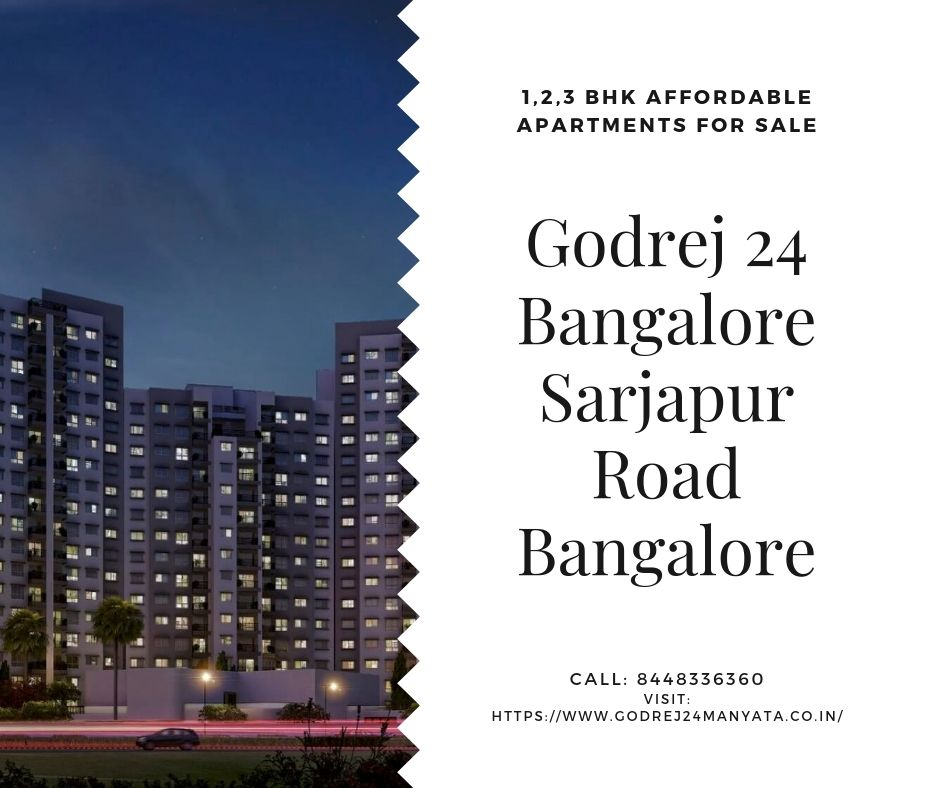 Experience the special luxury life in Godrej 24, Bangalore!