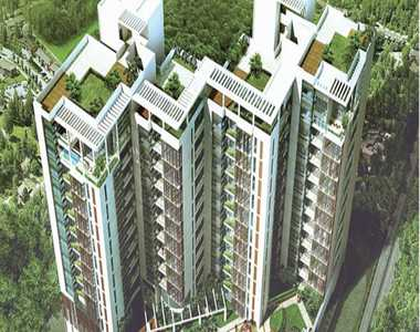 A lake facing residential apartments project