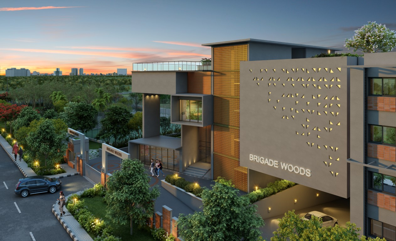 Brigade Woods Well-planned homes in Whitefield Bangalore
