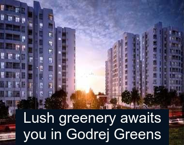 Lush greenery awaits you in Godrej Greens Undri
